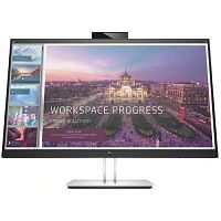 "LCD HP 27"" E27d G4 EliteDisplay Docking Monitor черный [6PA56AA]{IPS 2560x1440 75Hz 5ms 178/178 1000:1 300cd 8bit HDMI DisplayPort(in+out) AudioOut Webcam 4xUSB3.0 USB-C RJ45 VESA}"