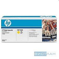 HP CE742A Картридж ,Yellow{Color LJ CP5225, Yellow, (7300стр.)}