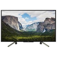 "Sony 50"" KDL50WF665BR черный/серебристый {FULL HD/400Hz/DVB-T/DVB-T2/DVB-C/DVB-S/DVB-S2/USB/WiFi/Smart TV}"