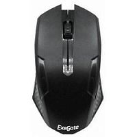 Exegate EX264097RUS Мышь Exegate SH-9025L <black, optical,  3btn/scroll, 1000dpi, USB, шнур 2м>, Color box