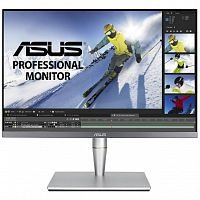 "ASUS LCD 24.1"" PA24AC ProArt черный {IPS 1920x1200 16:10 70Hz 5ms 8bit 350cd 178/178 HDR10 DisplayHDR400 DisplayPort 1000:1 USB3.0 USB-C VESA 2x2W}"