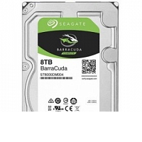 Жесткий диск 8TB Seagate BarraCuda ST8000DM004 (SATA III, 5400 rpm, 256mb)