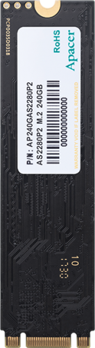 Накопитель Apacer SSD M.2 PCI-E 240GB AS2280 AP240GAS2280P2-1 со склада в Москве фото 5