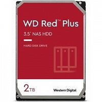 Жесткий диск WD Original SATA-III 2Tb WD20EFZX NAS Red Plus (5400rpm) 128Mb 3.5""