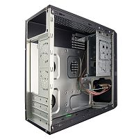 Exegate EX280444RUS Корпус Slim Minitower Exegate MS-305 Black, mATX <M300, 80mm> 2*USB, Audio