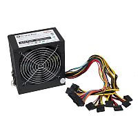 Prime Box PC-500W (ATX-500W)  (20+4+4pin; 2/0/2; 120мм)
