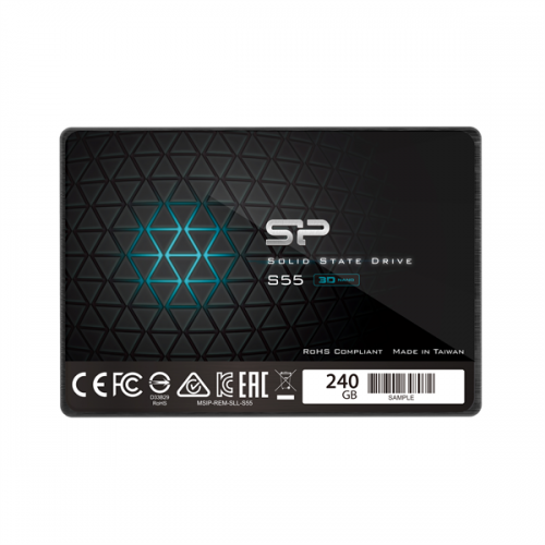 Silicon Power SSD 240Gb S55 SP240GBSS3S55S25TR {SATA3.0, 7mm} со склада в Москве