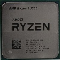 CPU AMD Ryzen 5 3500 OEM {3.6GHz up to 4.1GHz/6x512Kb+16Mb, 6C/6T, Matisse, 7nm, 65W, unlocked, AM4}