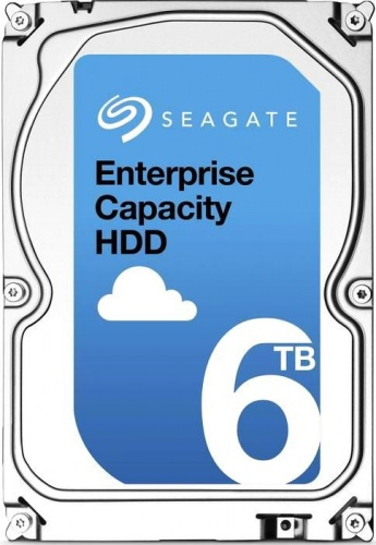 Жесткий диск 6TB Seagate Enterprise Capacity 3.5 HDD ST6000NM0095 со склада в Москве
