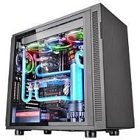 Case Tt Suppressor F31 TG [CA-1E3-00M1WN-03] ATX/ win/ black/ USB 3.0/ no PSU [CA-1E3-00M1WN-03]