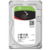 "Жесткий диск 6TB Seagate Ironwolf ST6000VN001 (SATA 6.0Gb/s, 7200 rpm, 256mb, 3.5"", для NAS)"