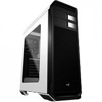 "Miditower Aerocool AERO-500 WINDOW белый без БП ATX 4x120mm 2xUSB2.0 1xUSB3.0 audio bott PSU"" [55583]"