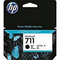 HP CZ129A Картридж №711, Black  {Designjet T120/T520, Black (38ml)}