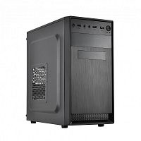 CROWN Корпус CMC-4210 (CM-PS500W ONE) OEM (mATX; 2*USB2.0; 185*380*355 мм)