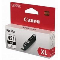 Canon CLI-451XLBK  6472B001 Картридж для PIXMA iP7240, MG5440, 6340, Черный, 4425стр.
